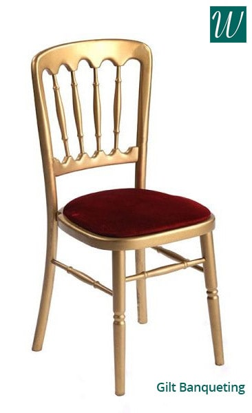 Gilt banqueting Chair